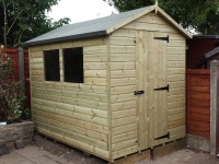 Classic Timber Garden Shed