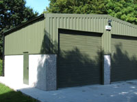 light industrial units double