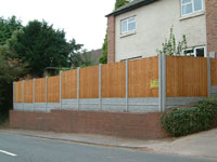 Fencing completed